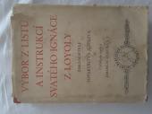 Výbor z listů a instrukcí svatého Ignáce z Loyoly - bazar