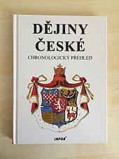 Dějiny české : chronologický přehled - bazar