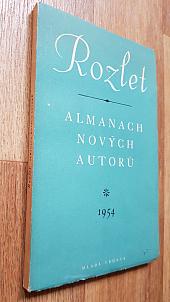 Rozlet almanach nových autorů 1954 - bazar