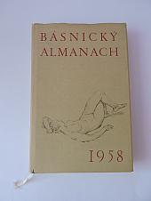 Básnický almanach 1958 - bazar