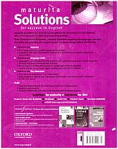 Maturita solutions: upper-intermediate. Workbook - bazar