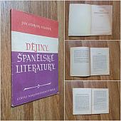 Dějiny španělské literatury - bazar