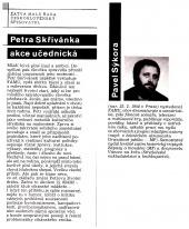 Petra Skřivánka akce učednická - bazar