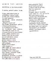 Mužíček z mandragory - bazar