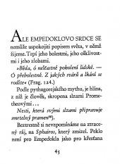 Empedokles z Akragantu - bazar
