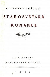 Starosvětská romance - bazar