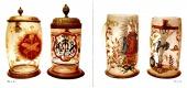 Renesanční a barokní emailované sklo - bazar