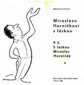 Miroslavu Horníčkovi s láskou - bazar