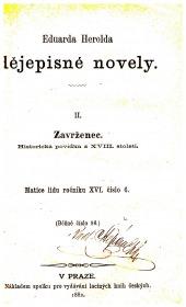 Dějepisné novely - bazar
