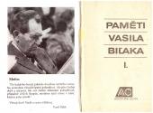 Paměti Vasila Biľaka (1.díl) - bazar
