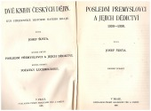 Dvě knihy českých dějin kniha druhá - bazar