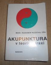 Akupunktura v teorii a praxi - bazar
