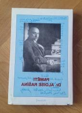 Paměti dr. Aloise Rašína - bazar