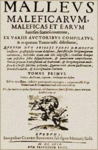 Úryvek z Malleus Maleficarum