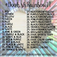 Bookish Rainbow 2017