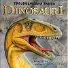 Dinosauři - Trojrozměrná fakta obálka knihy