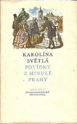 Povídky z minulé Prahy obálka knihy