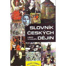 Slovník českých dějin obálka knihy