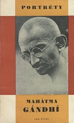 Mahátma Gándhí obálka knihy