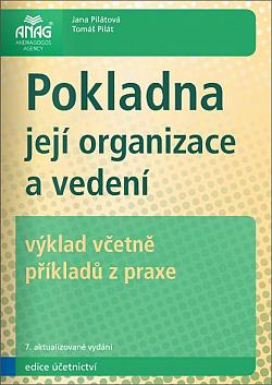 Pokladna: její organizace a vedení obálka knihy