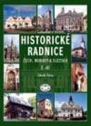 Historické radnice Čech, Moravy a Slezska, II. díl obálka knihy