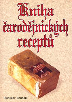 Kniha čarodějnických receptů obálka knihy