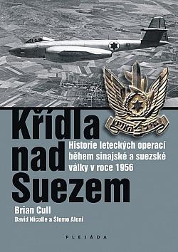 Křídla nad Suezem obálka knihy