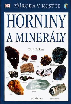 Horniny a minerály obálka knihy