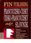Francouzsko-český, česko-francouzský studijní slovník obálka knihy