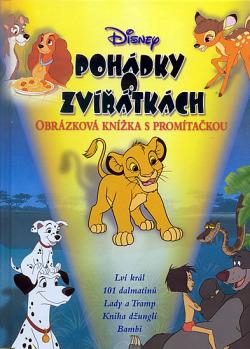 Pohádky o zvířátkách - Obrázková knížka s promítačkou
