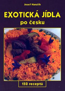 Exotická jídla po česku obálka knihy