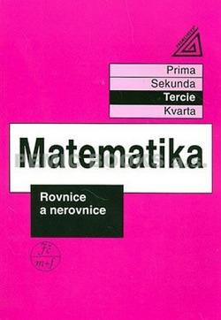 Matematika - Rovnice a nerovnice obálka knihy