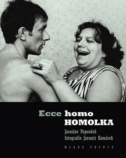 Ecce homo Homolka obálka knihy