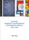 Slovník českých a slovenských výtvarných umělců 1950 -2003 Pau-Pop obálka knihy