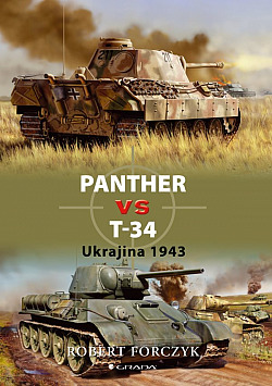 Panther vs T-34 - Ukrajina 1943 obálka knihy