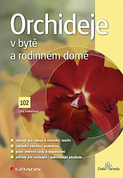 Orchideje v bytě a rodinném domě obálka knihy