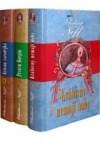 Petr Kukaň z Kukaně – komplet (Královny nemají nohy, Prsten Borgiů, Krásná čarodějka) obálka knihy