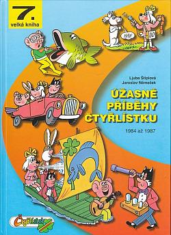 Úžasné příběhy Čtyřlístku - 1984-1987 obálka knihy