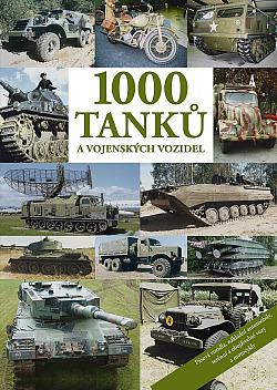 1000 tanků a vojenských vozidel obálka knihy