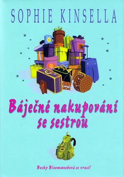 Báječné nakupování se sestrou obálka knihy