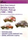Škoda Favorit, Forman, Pick-up (1988-1993) obálka knihy