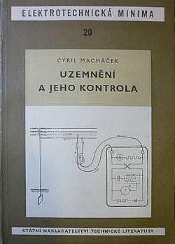 Uzemnění a jeho kontrola obálka knihy