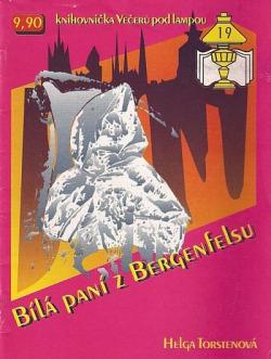 Bílá paní z Bergenfelsu obálka knihy