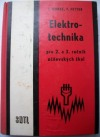 Elektrotechnika pro 2. a 3. ročník učňovských škol obálka knihy