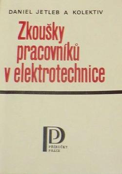 Zkoušky pracovníků v elektrotechnice obálka knihy