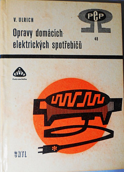 Opravy domácích elektrických spotřebičů obálka knihy