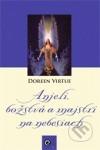 Anjeli, božstvá a majstri na nebesiach obálka knihy