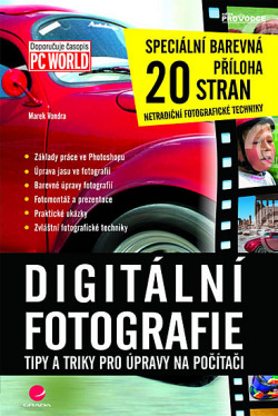 Digitální fotografie - tipy a triky obálka knihy