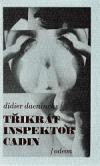 Třikrát inspektor Cadin obálka knihy