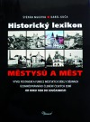 Historický lexikon městysů a měst obálka knihy